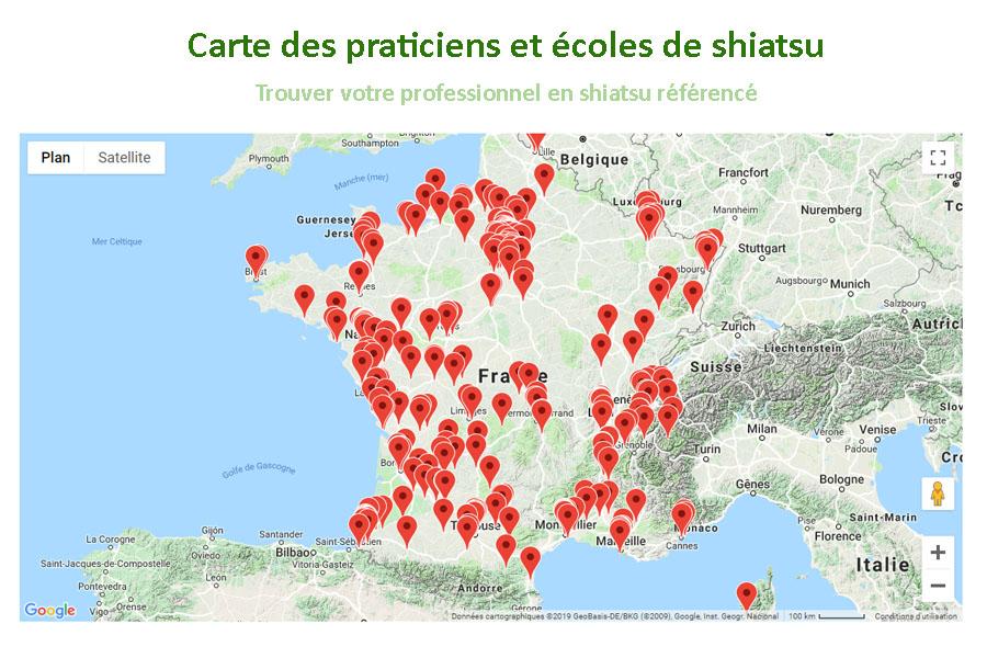 Trouver un praticien ou une école ? - Où trouver un professionnel shiatsu en France ?