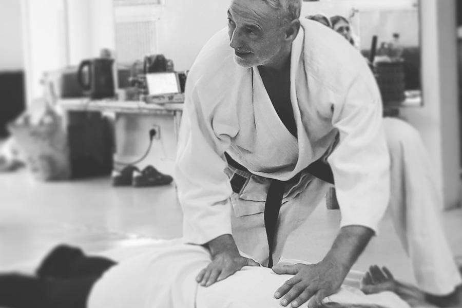 Hervé Ligot, du Judo au Shiatsu - © Hervé Ligot - Zen Shiatsu et Do In