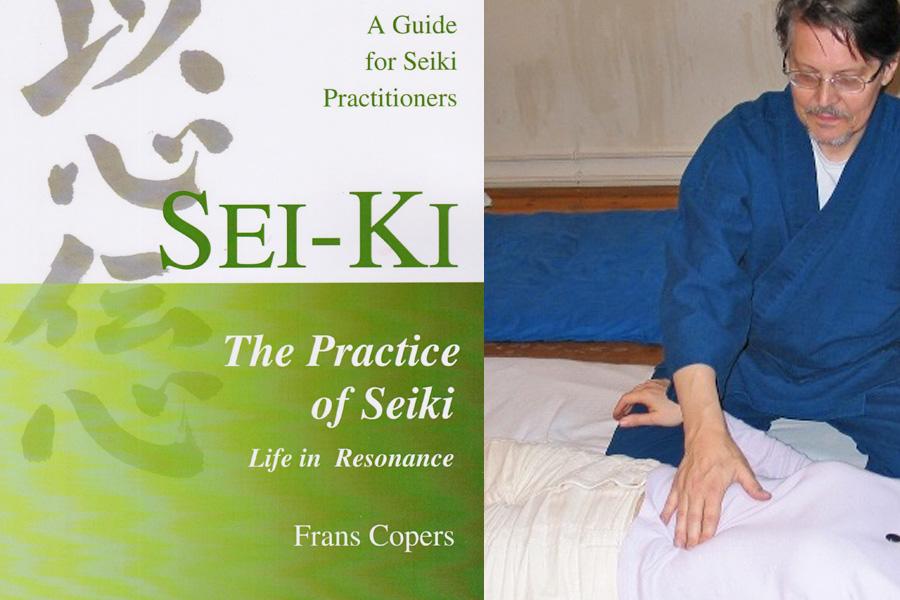 Frans Copers, du Shiatsu au Seiki - Entrevue avec Frans Copers :  son cv, son livre