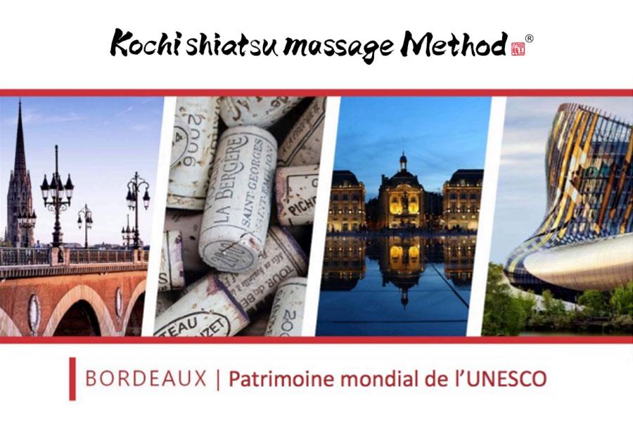 Stage shiatsu Kochi à Bordeaux Le fondateur japonais pour la première fois en France ! Les mercredi 01 et jeudi 02 mai 2019