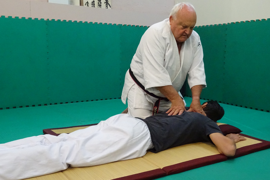 Roland Boudet, Ki Shin Tai Jutsu et Shiatsu - © Roland Boudet - Académie shiatsu