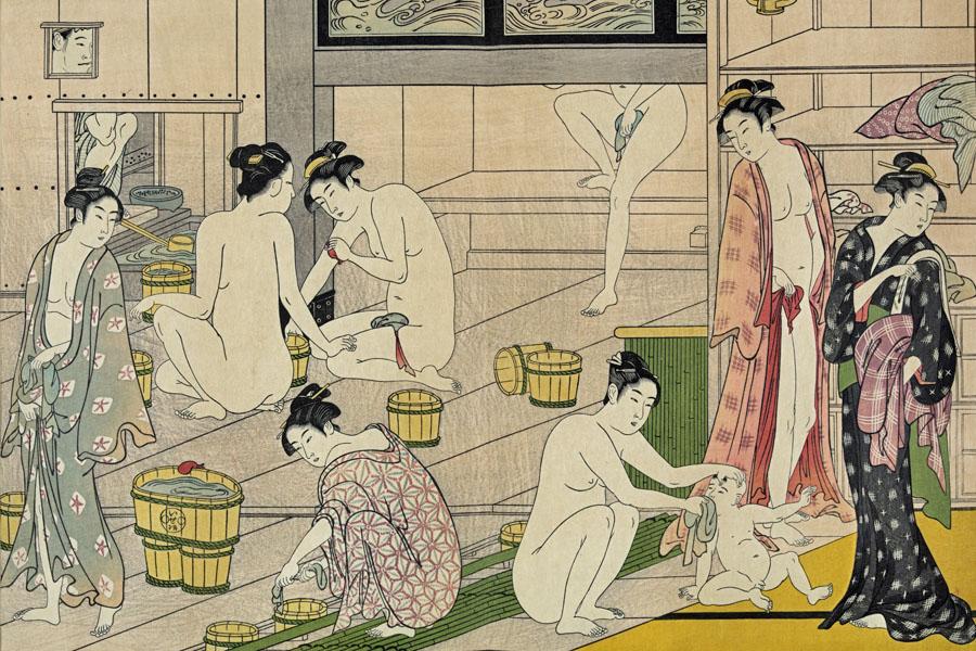 O Furo, Sento et Onsen - ©WikiImages Px - Les bains japonais