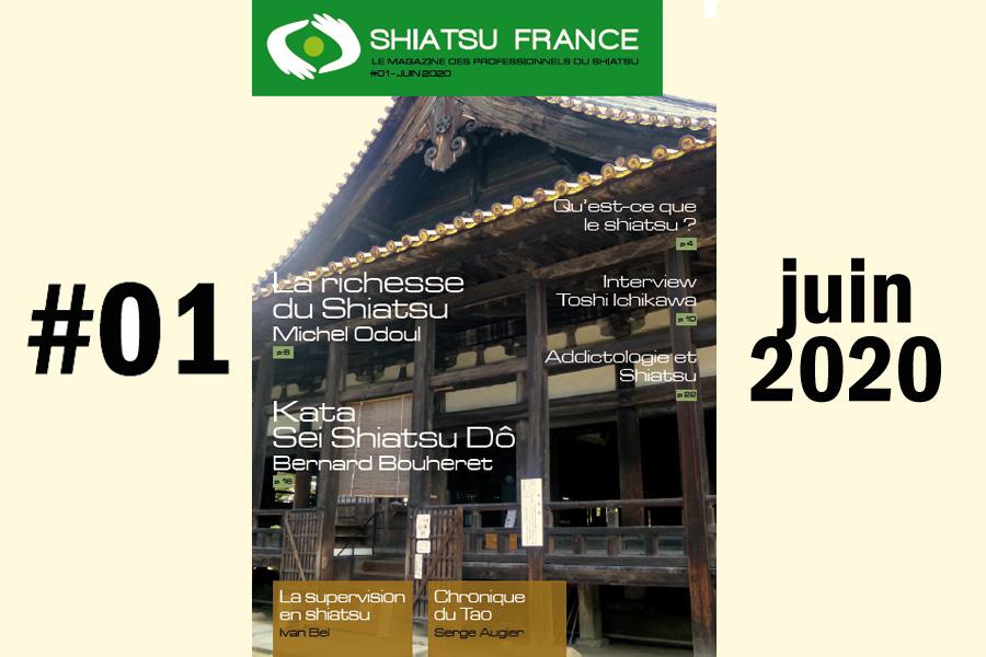 La revue du shiatsu en France - © Shiatsu France Magazine