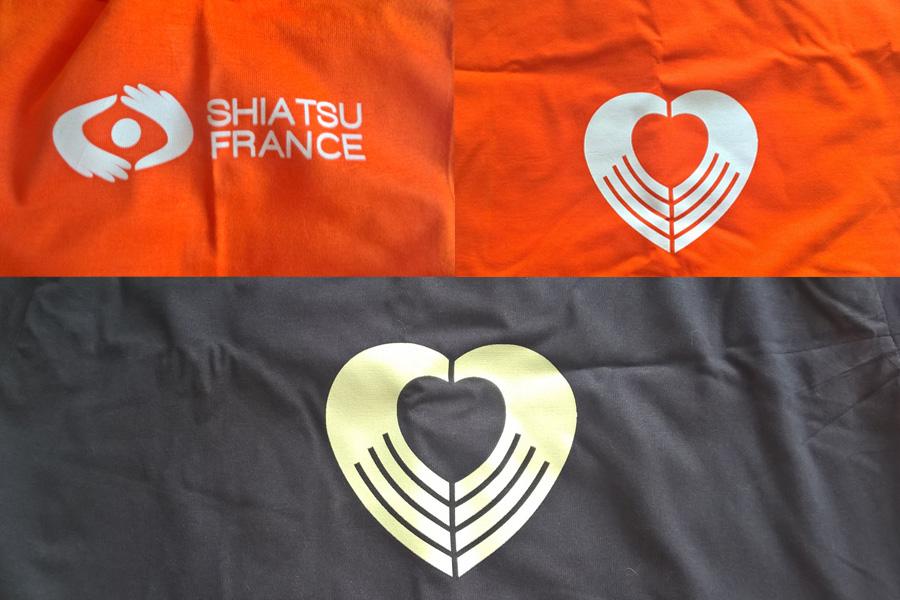 P07 : Tee-shirt Shiatsu France - Tee-Shirt Shiatsu France ©