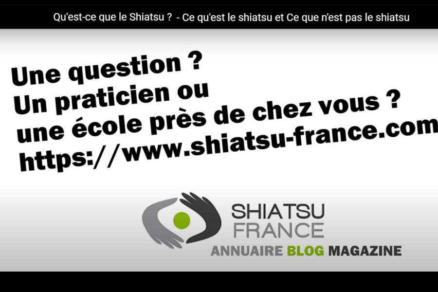 Vidéo Qu'est-ce que le shiatsu ? - © Shiatsu-France.com