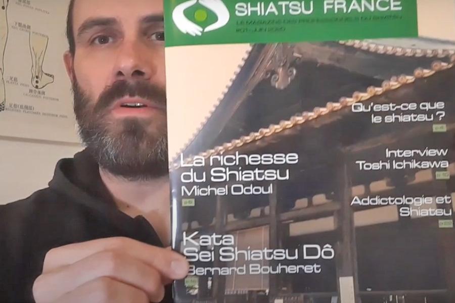 Présentation du magazine en vidéo - © Shiatsu France tous droits réservés
