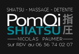 PomQi Shiatsu Nicolas Paumier : infos, localisation, contacts... pour ce centre de shiatsu